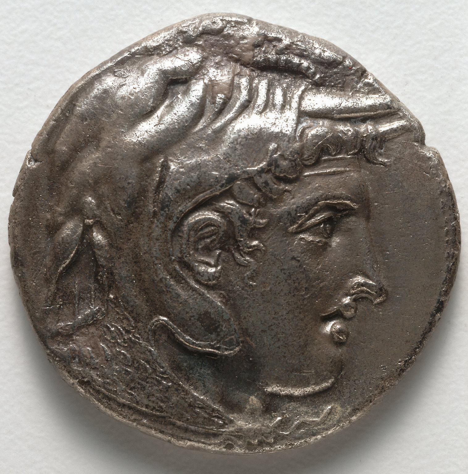 Stater: Alexander the Great (obverse)