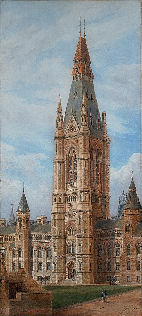 Design for the Tower, West Block Departmental Building, Ottawa