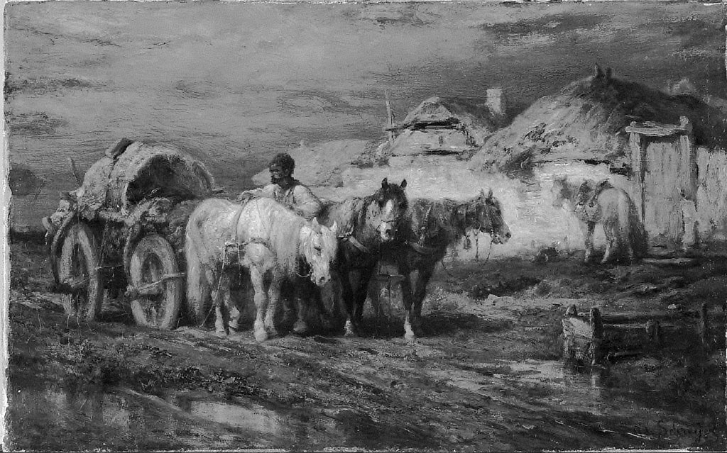 Peasants and Horses