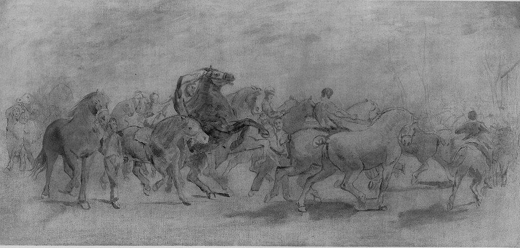 Study for The Horse Fair