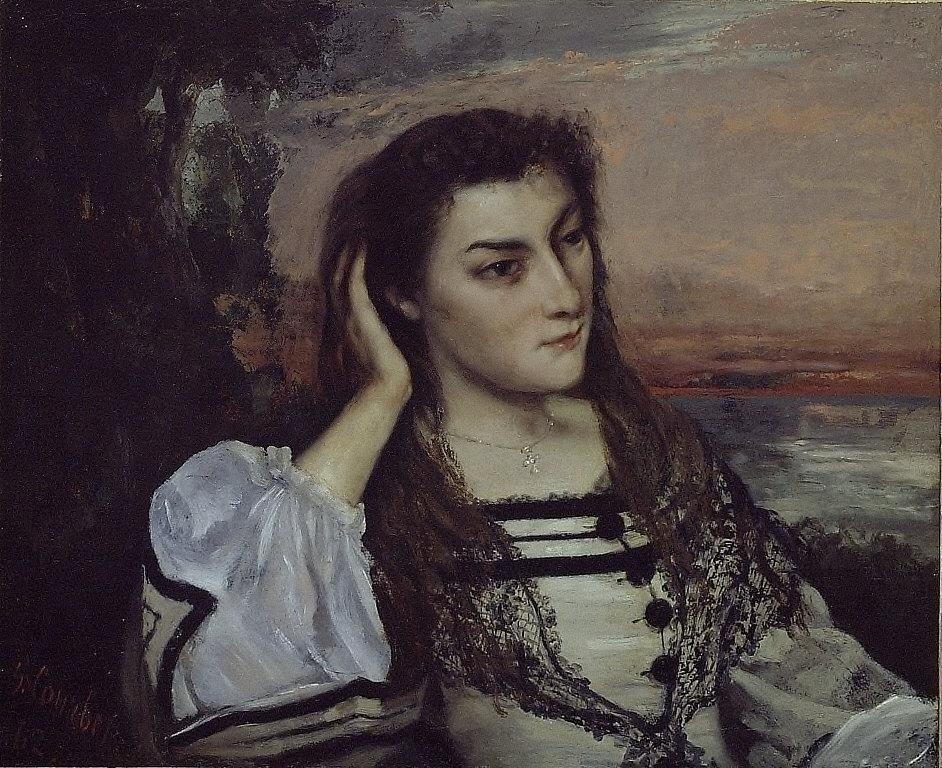 Rêverie (Portrait of Gabrielle Borreau)