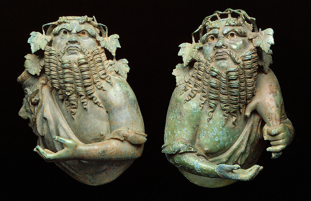 .2 Bust of Silenus (2 arms)