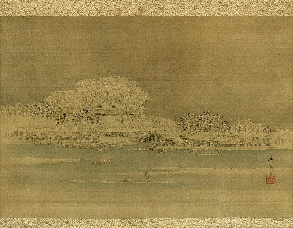 Matsuchiyama on the Sumida River