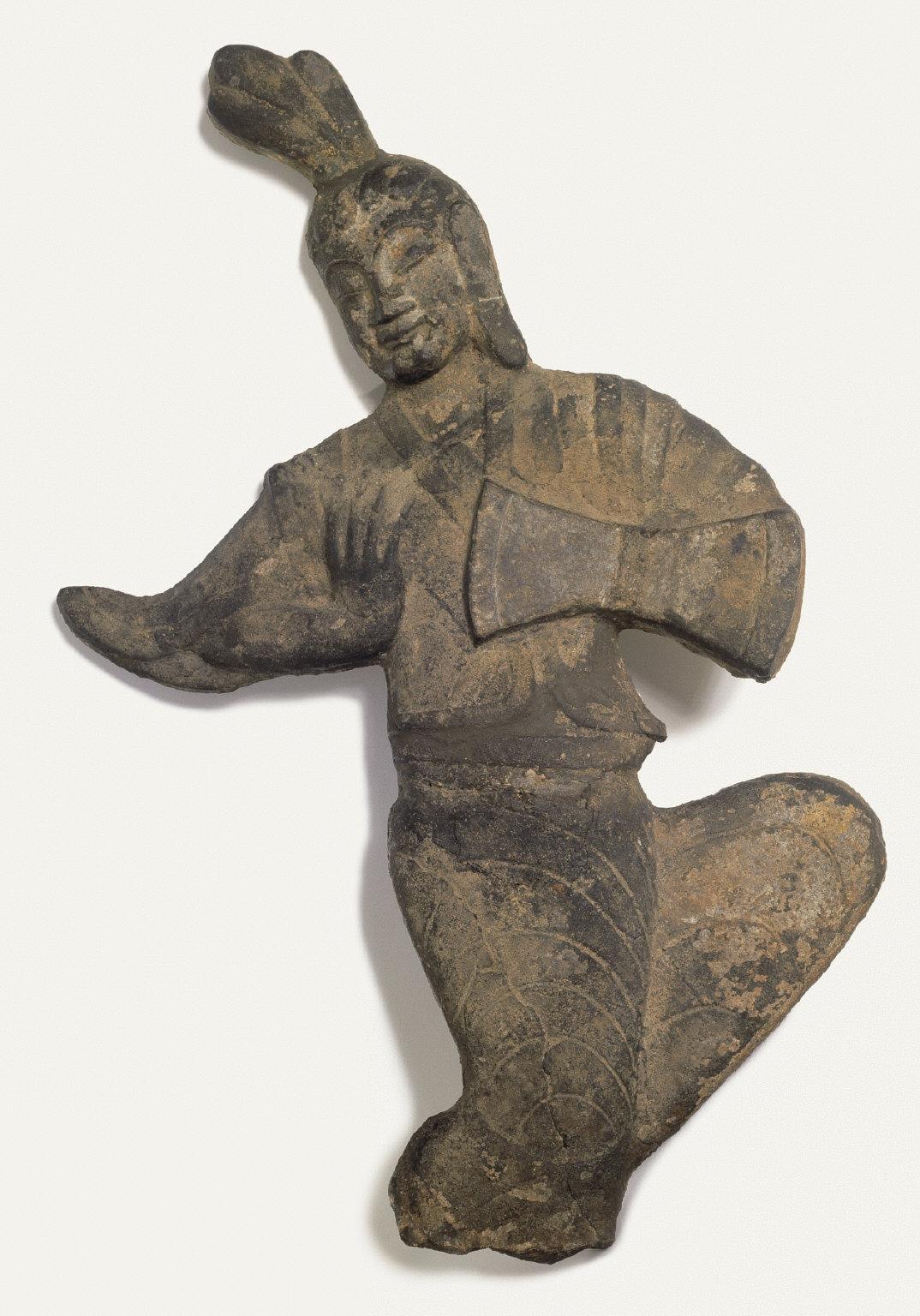Apsara Playing a Drum
