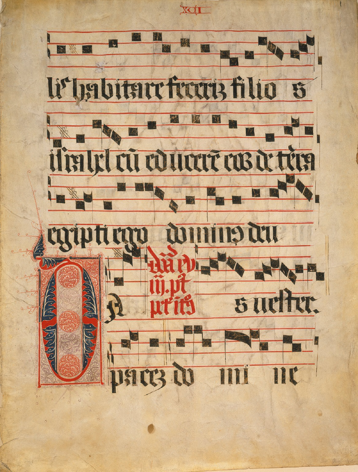 Antiphonal Leaf