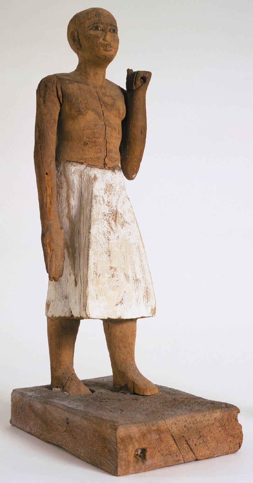 Figure of a Servant