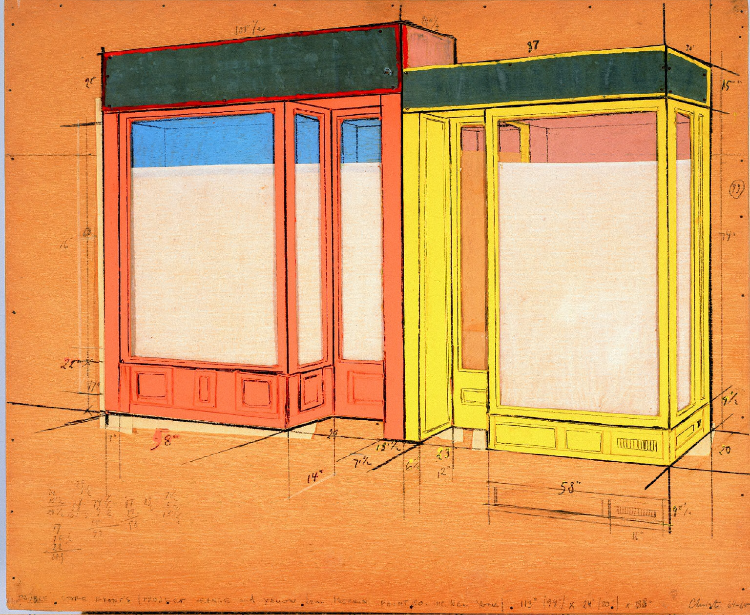 Double Store Fronts