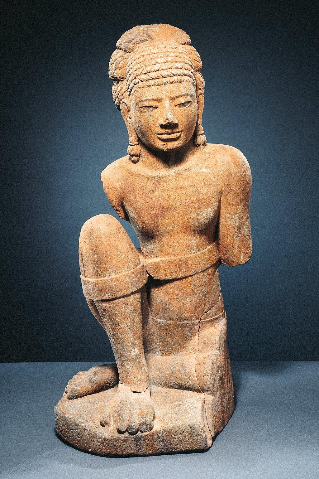 Male Figure (Aiyanar?)