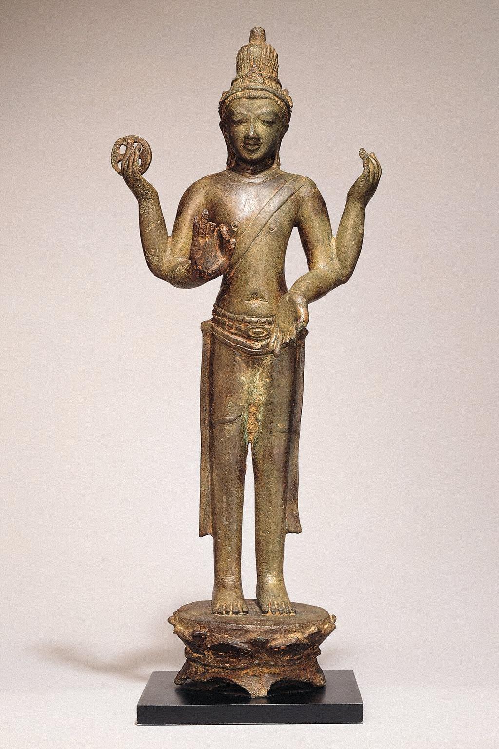 Standing Figure, Probably a Bodhisattva