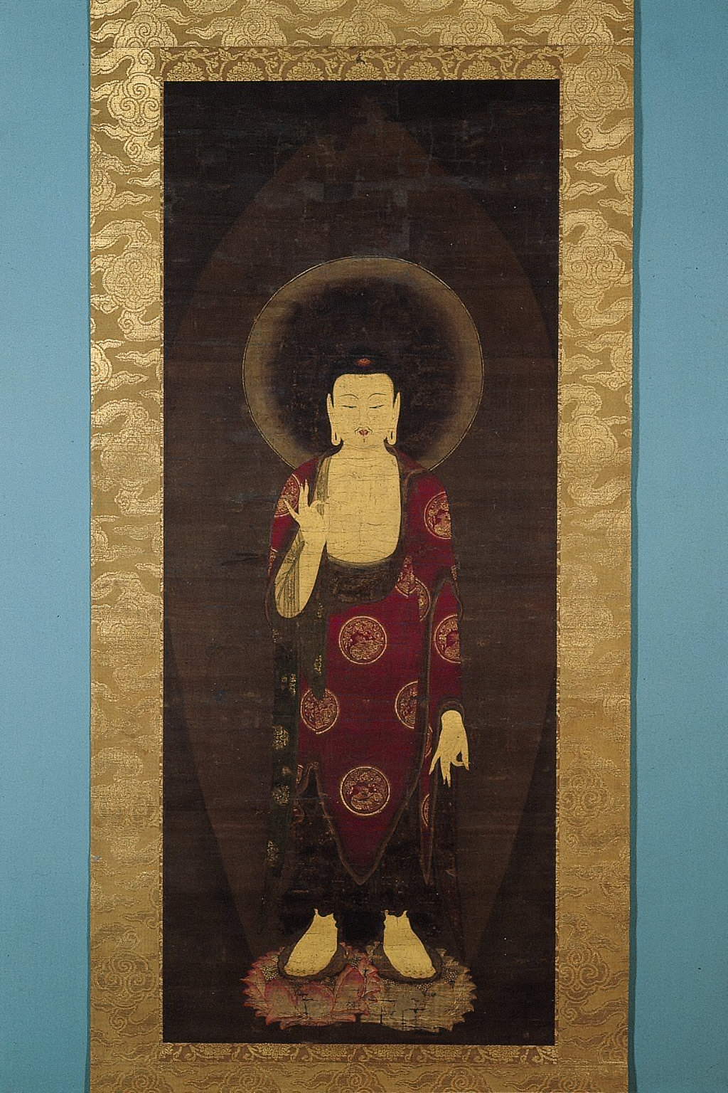 Descent of Buddha Amitabha (Amida Raigo)