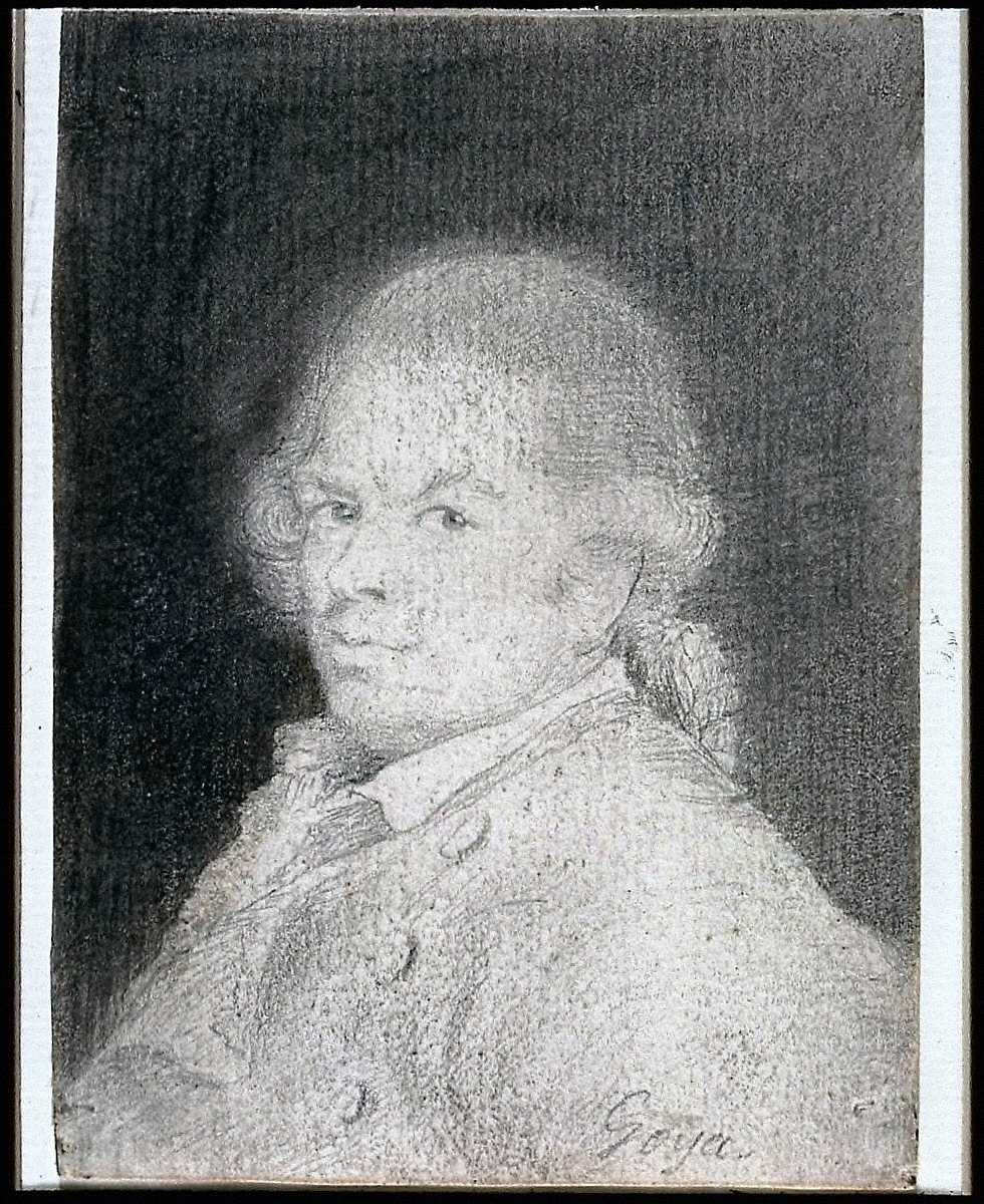 Francisco Goya (Self Portrait)