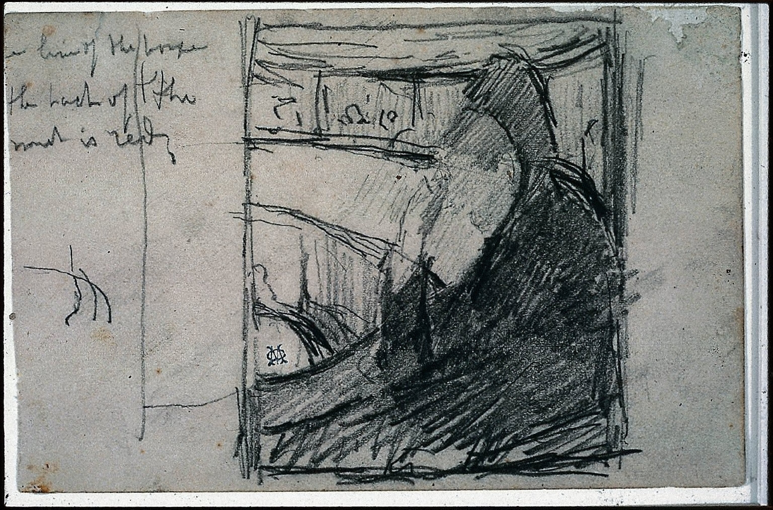 Study for At the Opera