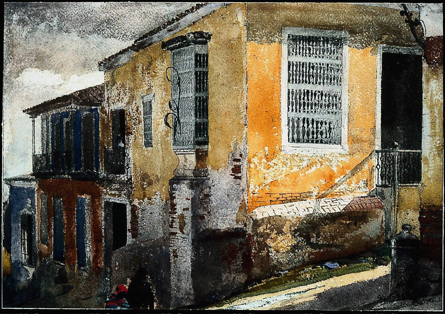 Street Corner, Santiago de Cuba