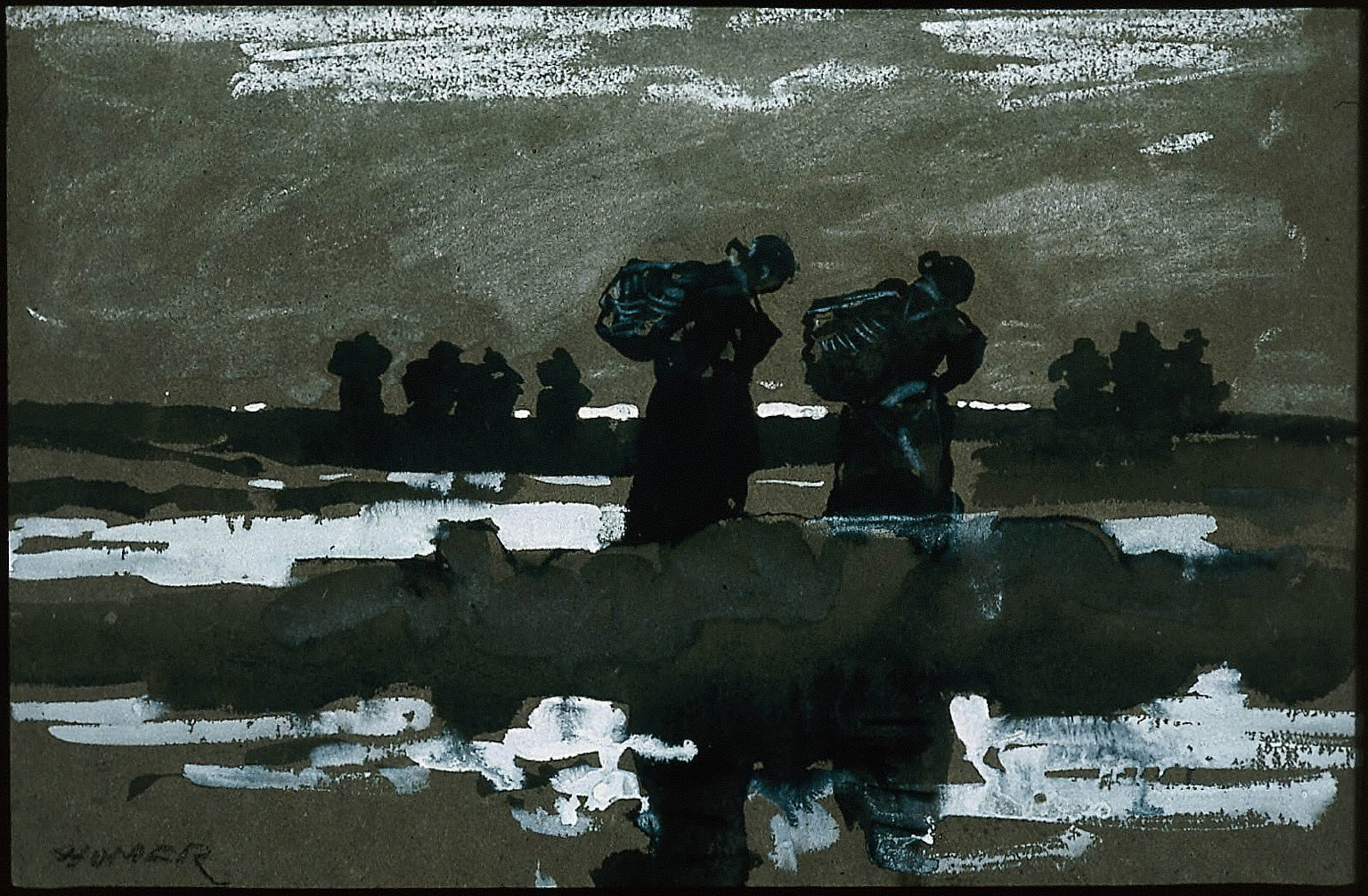 Women on the Sands (Mussel Gatherers)