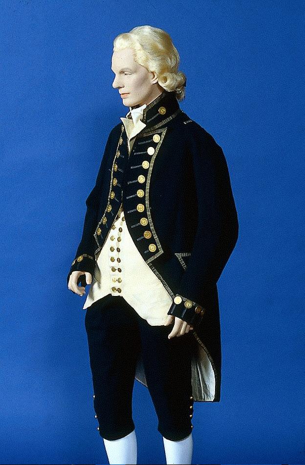 Naval dress suit