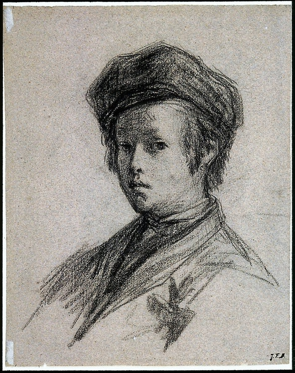 Portrait of a Young Boy (recto); Studies of the Head and Shoulders of a Boy and of a Hand