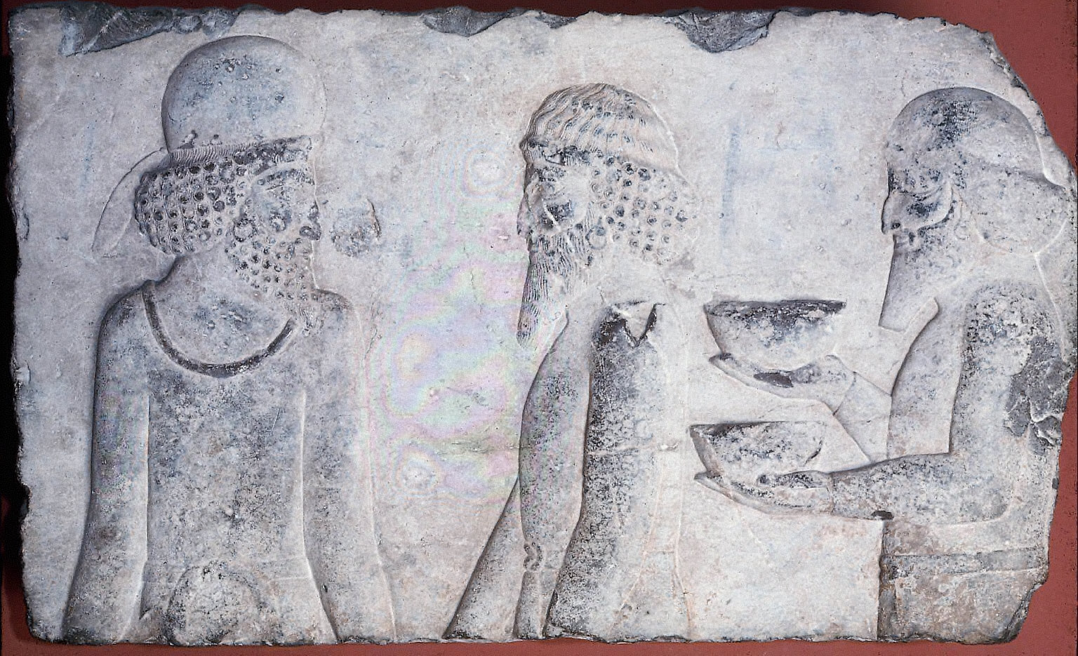 Relief of Median courtier and tribute bearers