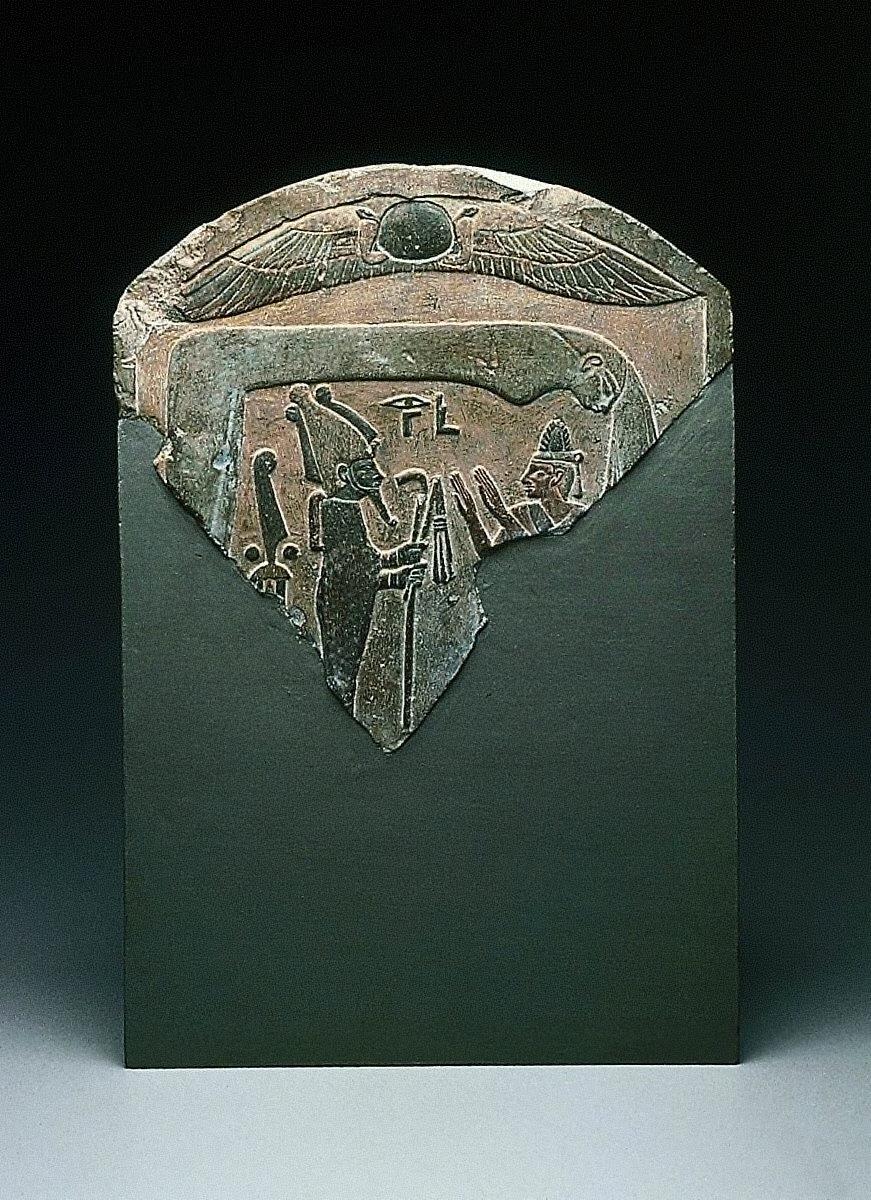Stela with image of Osiris