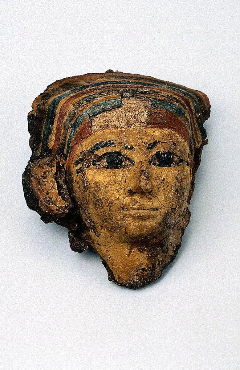 Mummy mask of a woman