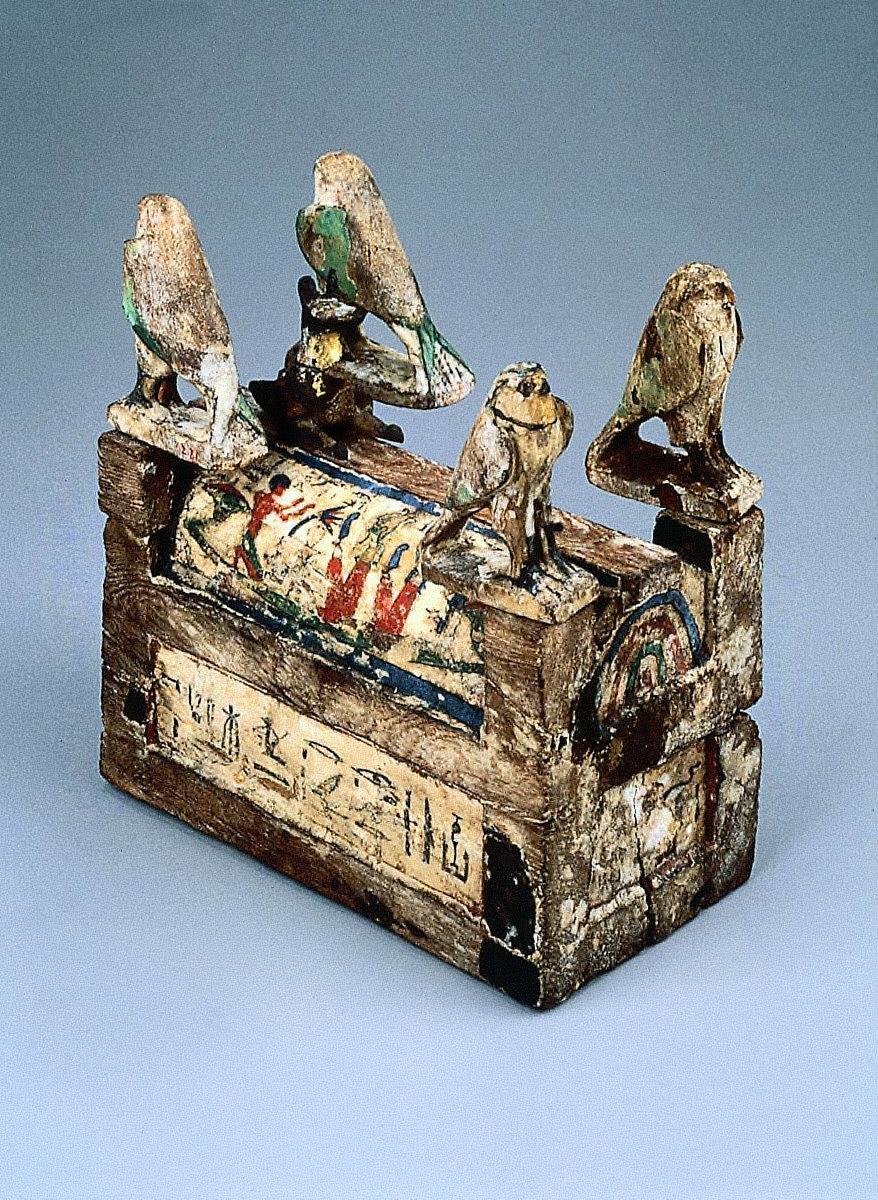 Model sarcophagus of Irethoru