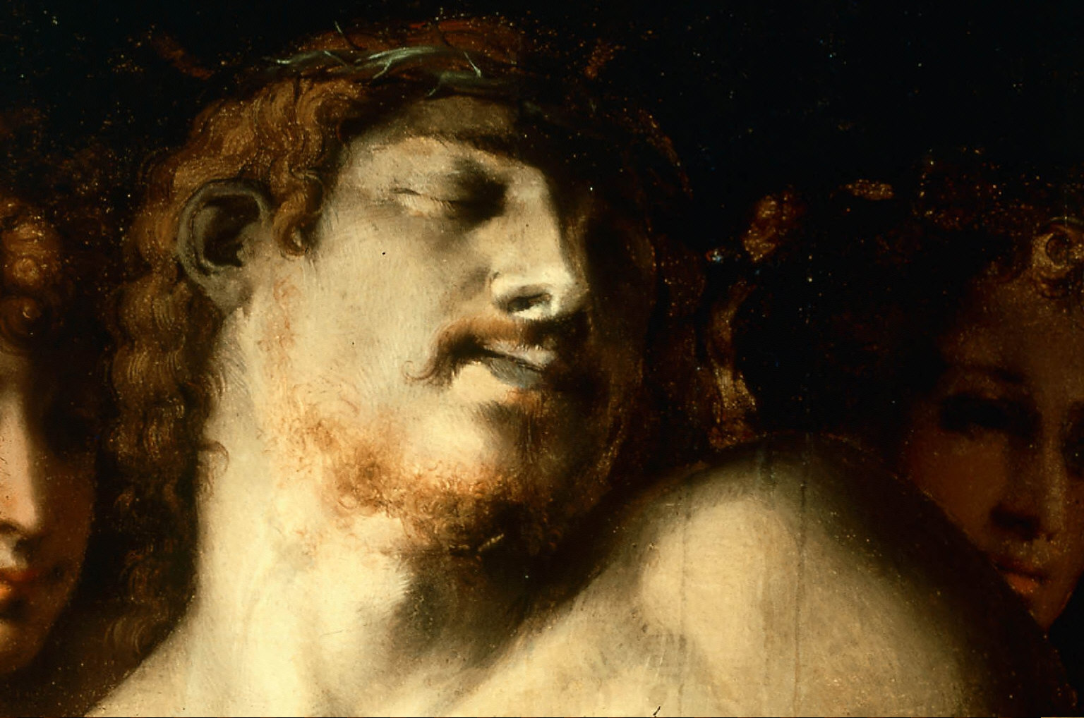 The Dead Christ with Angels