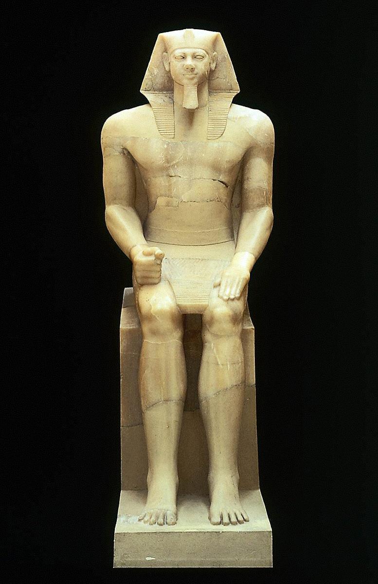 Colossal Statue of King Menkaure (Mycerinus)