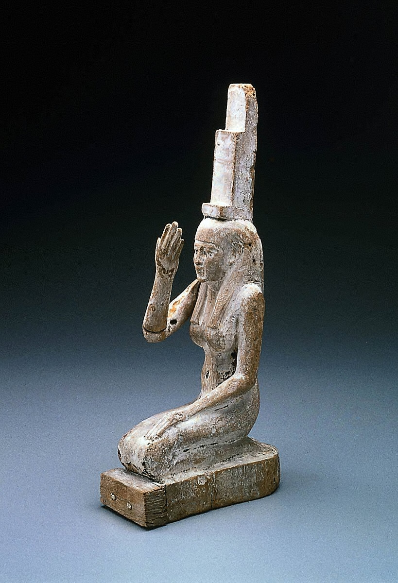 Statuette of Isis as a mourner