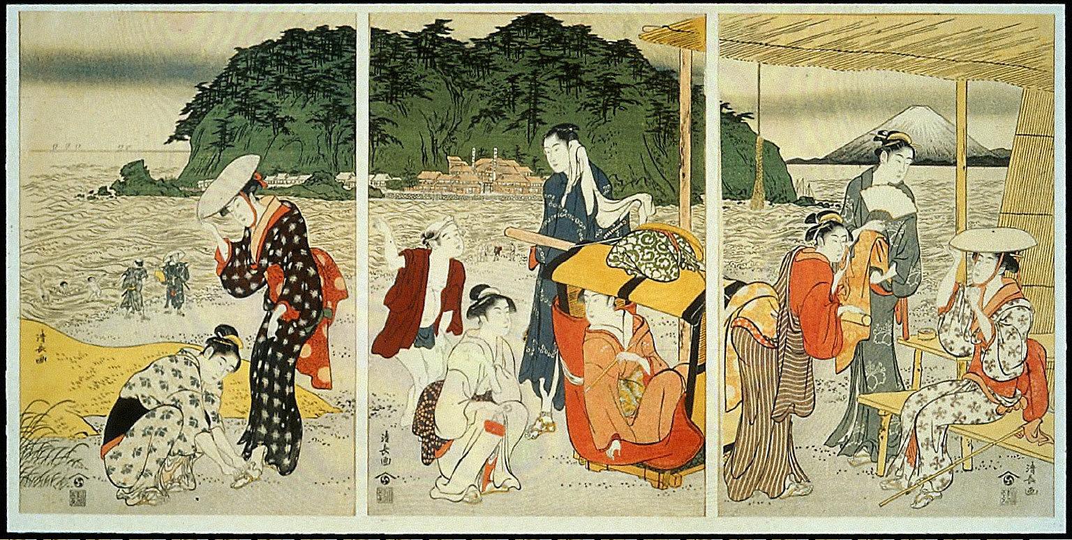 A Pilgrimage to Enoshima