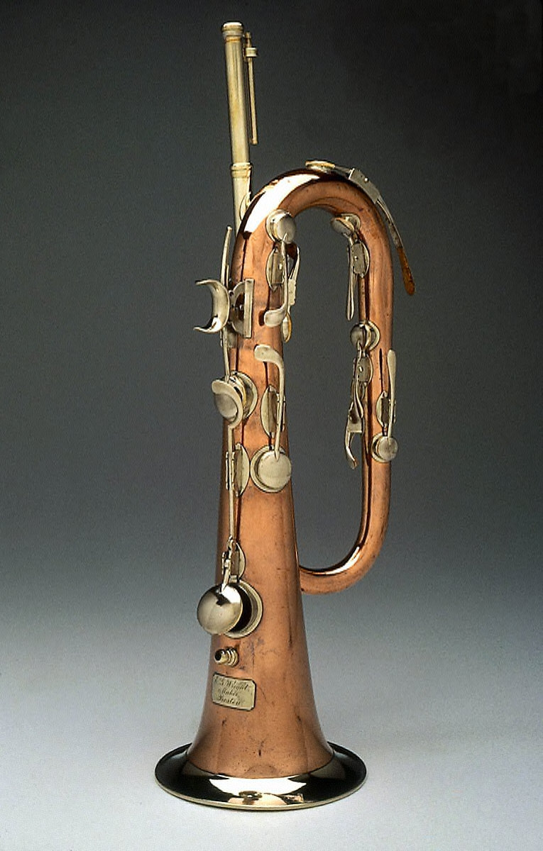 Keyed bugle in E-flat