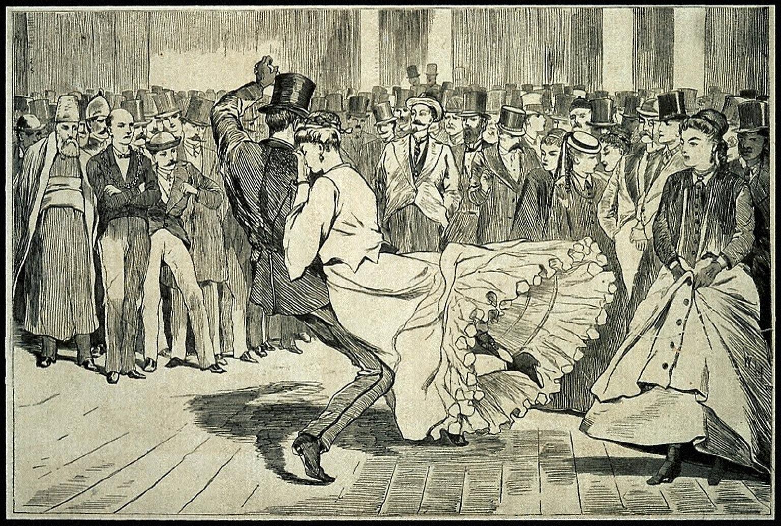 A Parisian Ball -- Dancing at the Casino