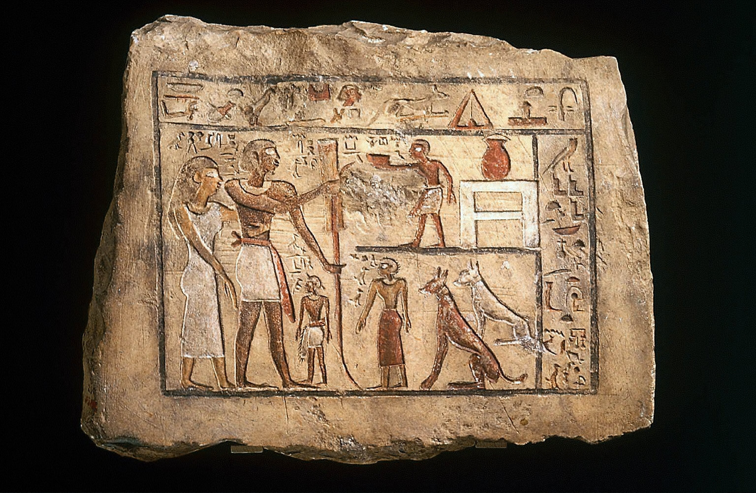 Stela of the Nubian soldier Nenu