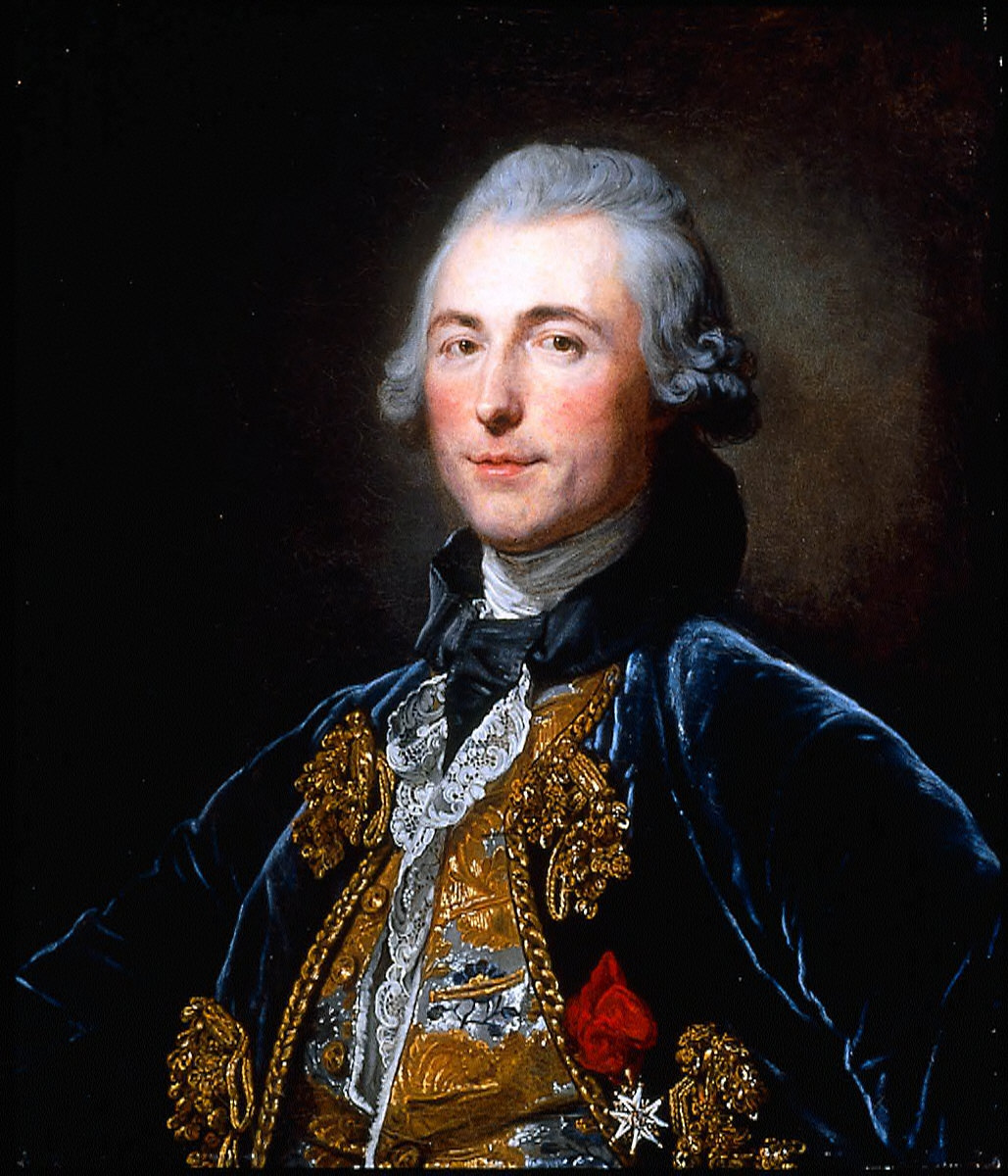 Portrait of a Man (Chevalier de Damery)