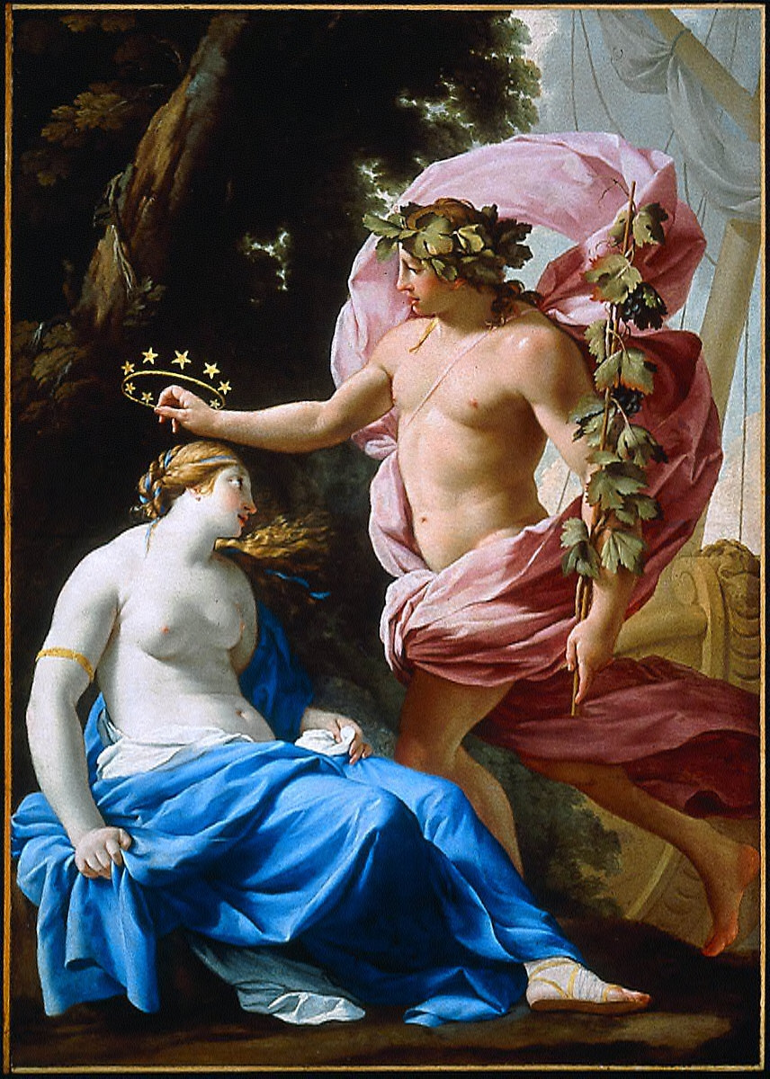 Bacchus Crowning Ariadne with Stars