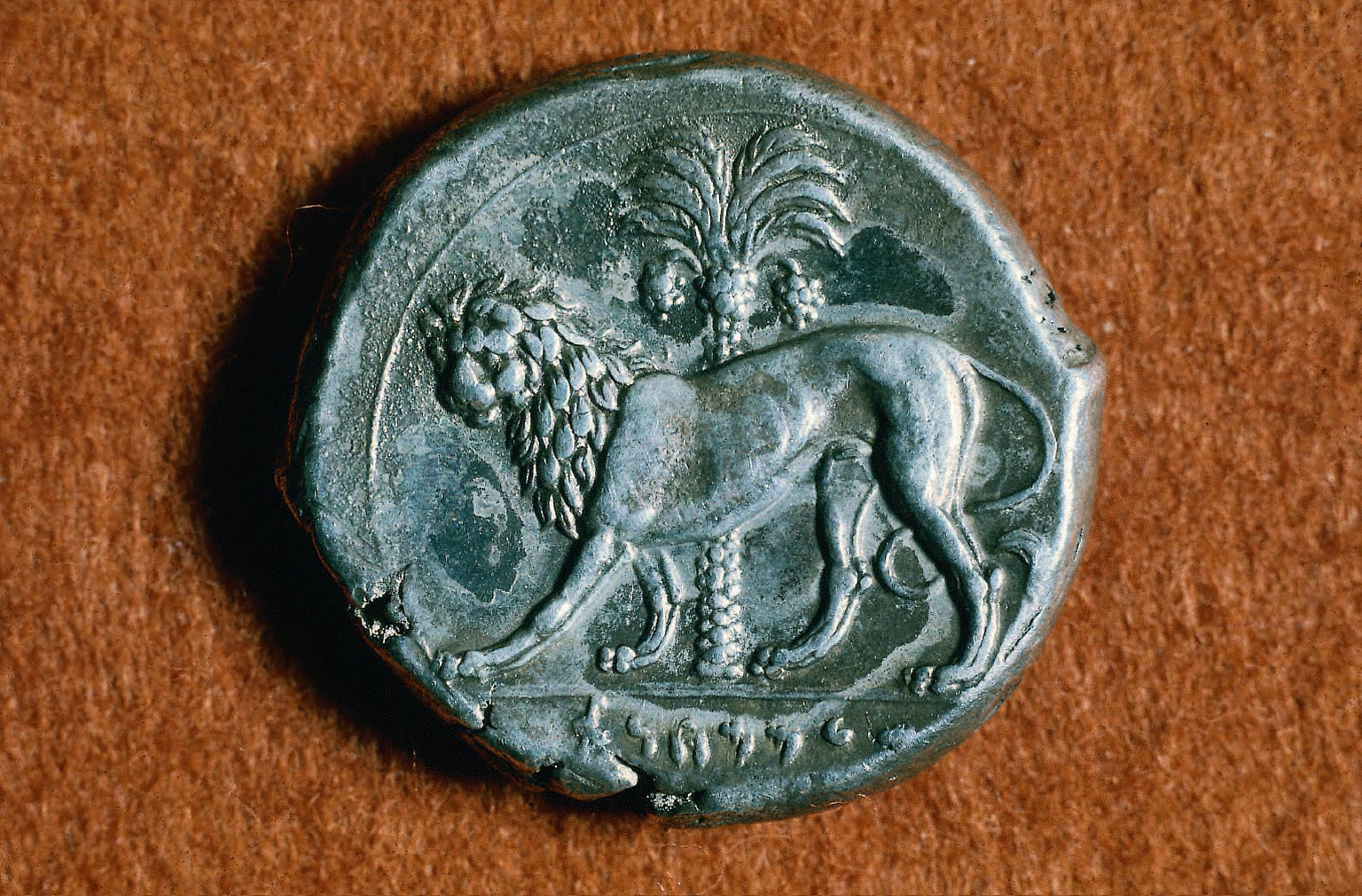 Siculo-Punic tetradrachm with head of a queen