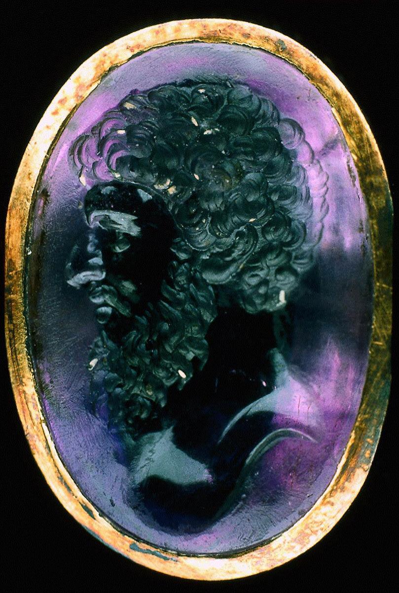 Intaglio with portrait of Lucius Verus