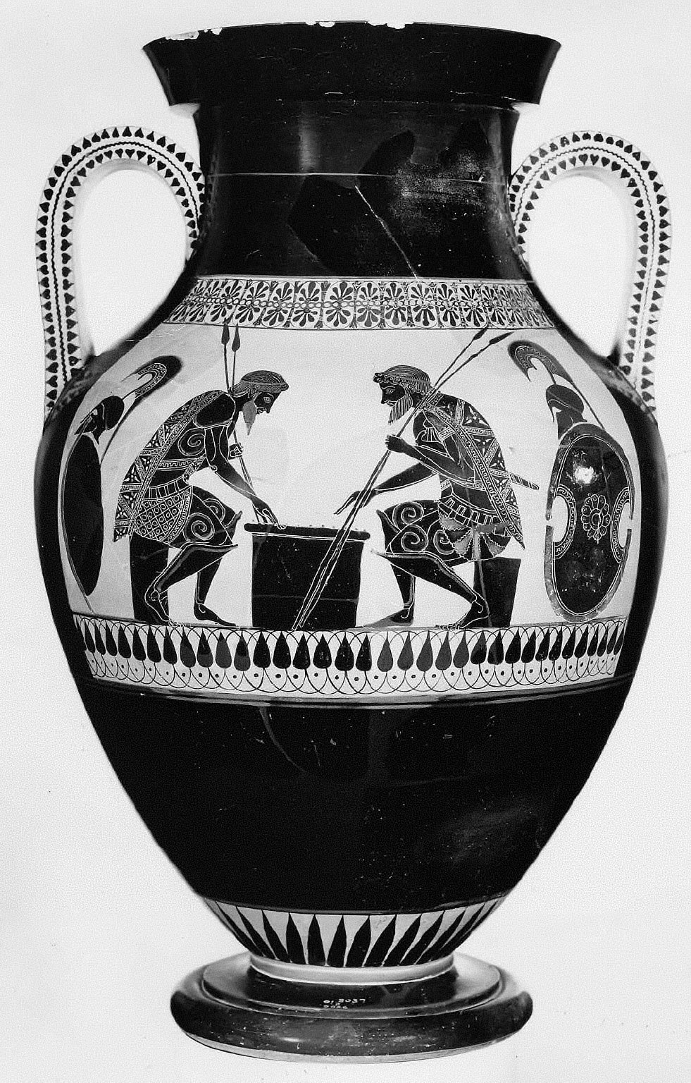 Amphora with Achilles and Ajax