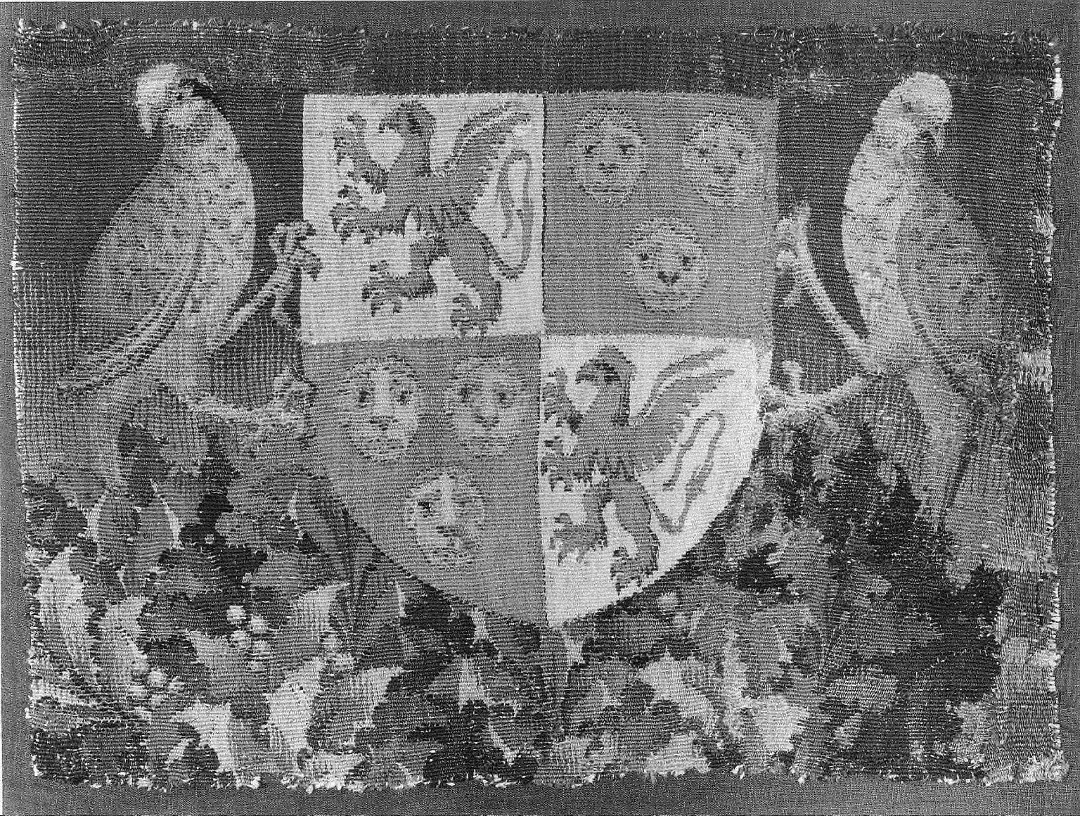 Armorial Shield C, fragment from THE STORY OF PENELOPE AND THE STORY OF