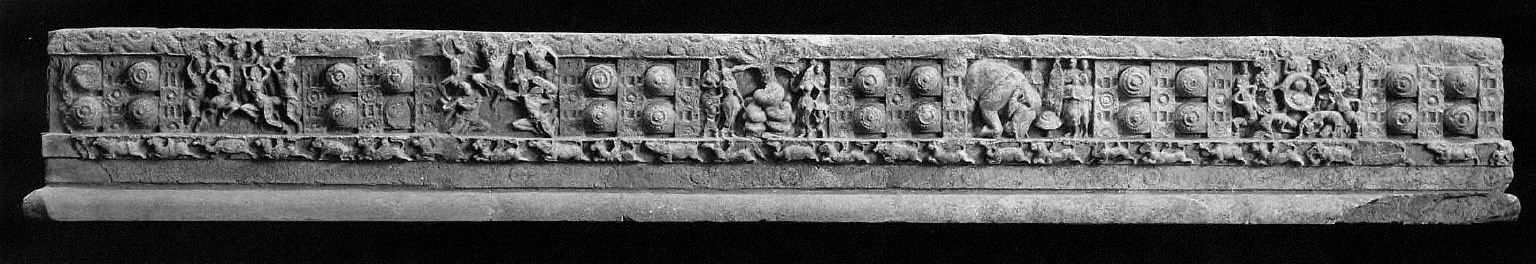 Monolithic marble railing