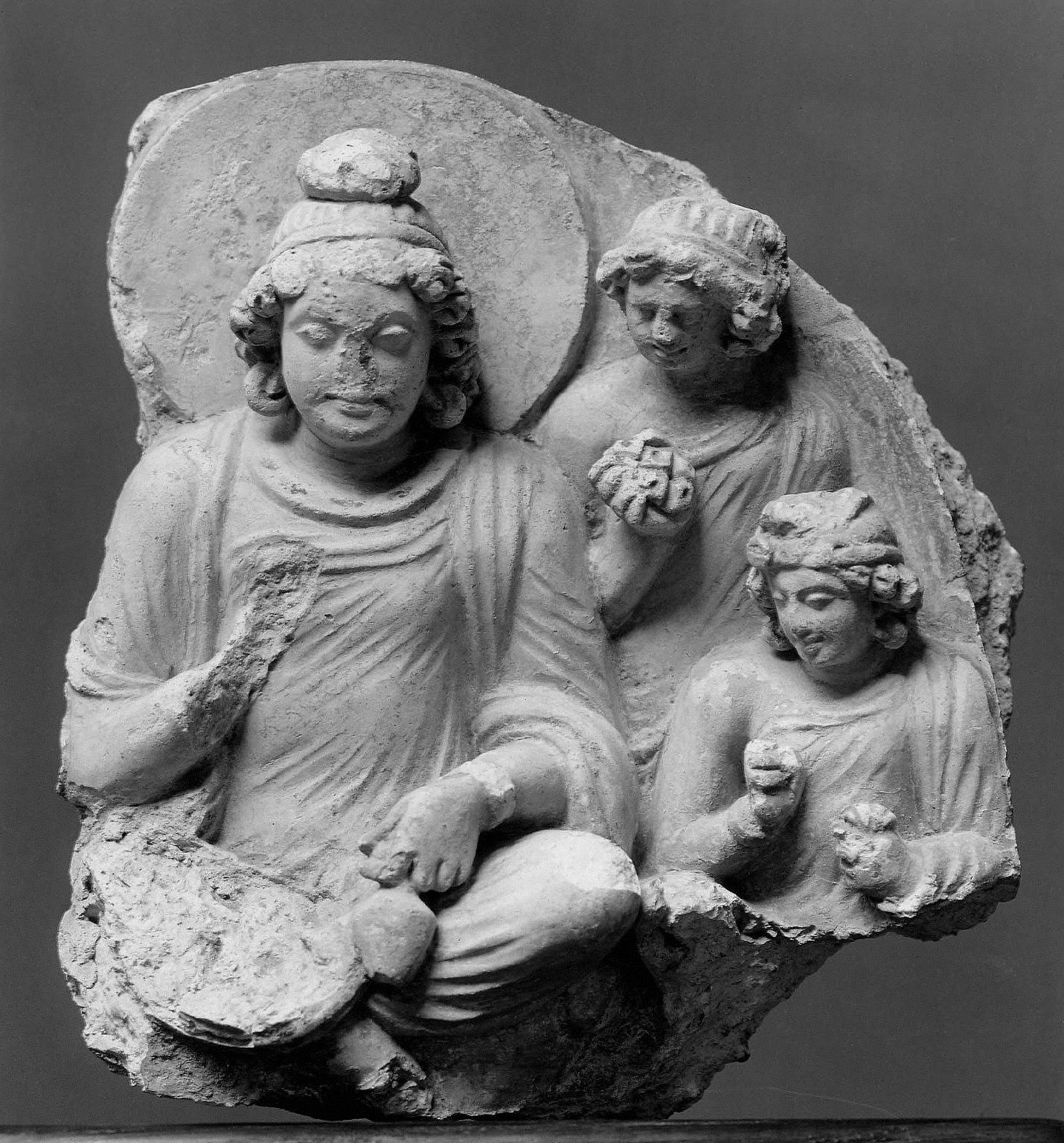 Bodhisattva Maitreya and Attendants