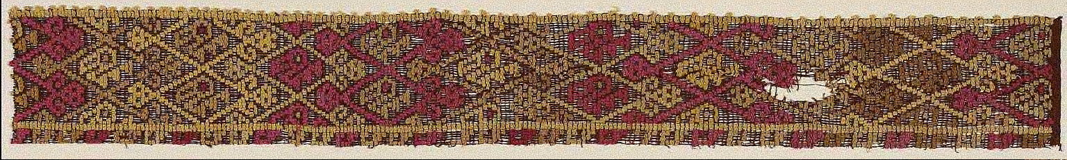 Fragment of a border (?)