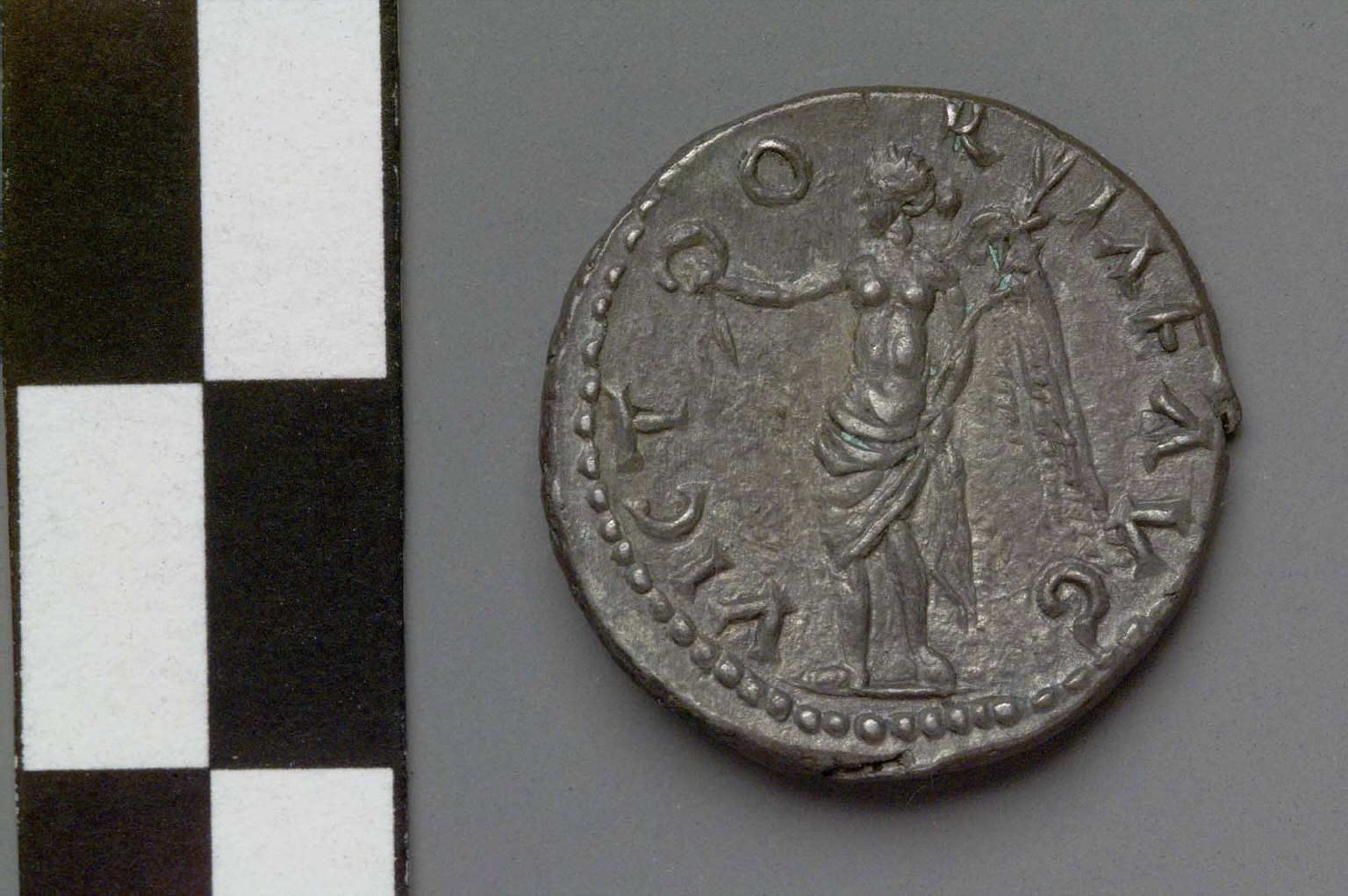 Denarius with bust of Pescennius Niger