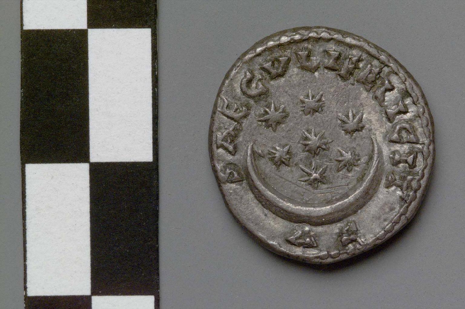 Denarius with head of Pescennius Niger