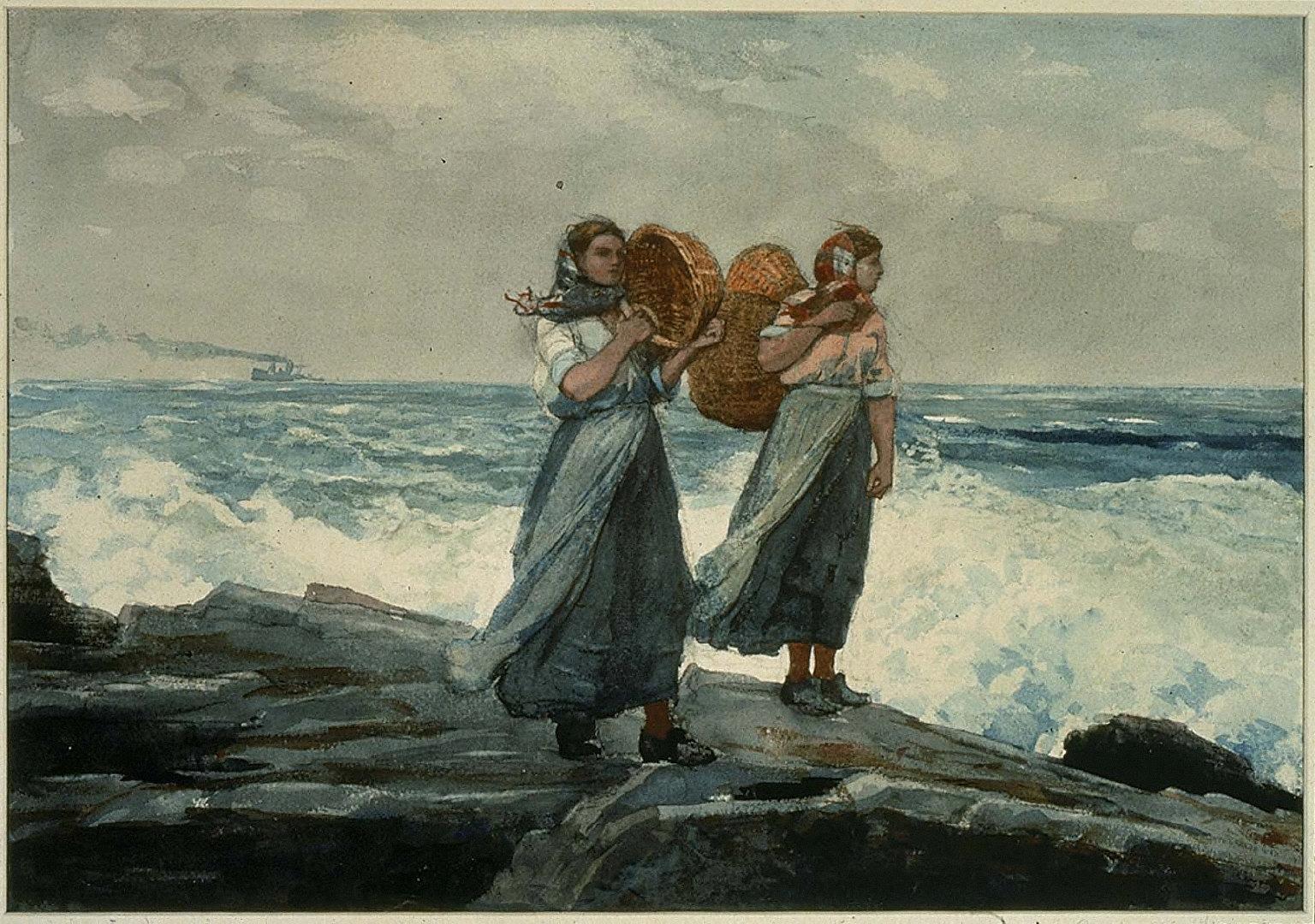 Fishergirls, England
