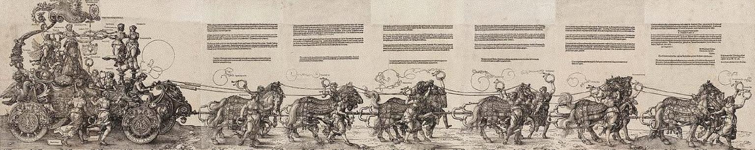 Triumphal Chariot of Maximilian I