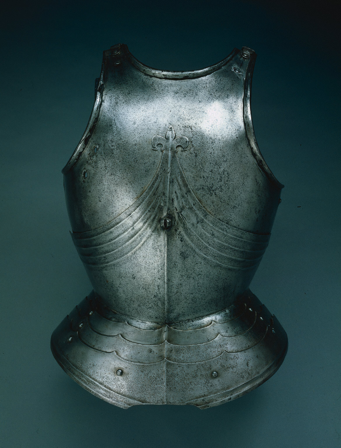 Gothic Breastplate (lower plate surmounted with fleur-de-lys)