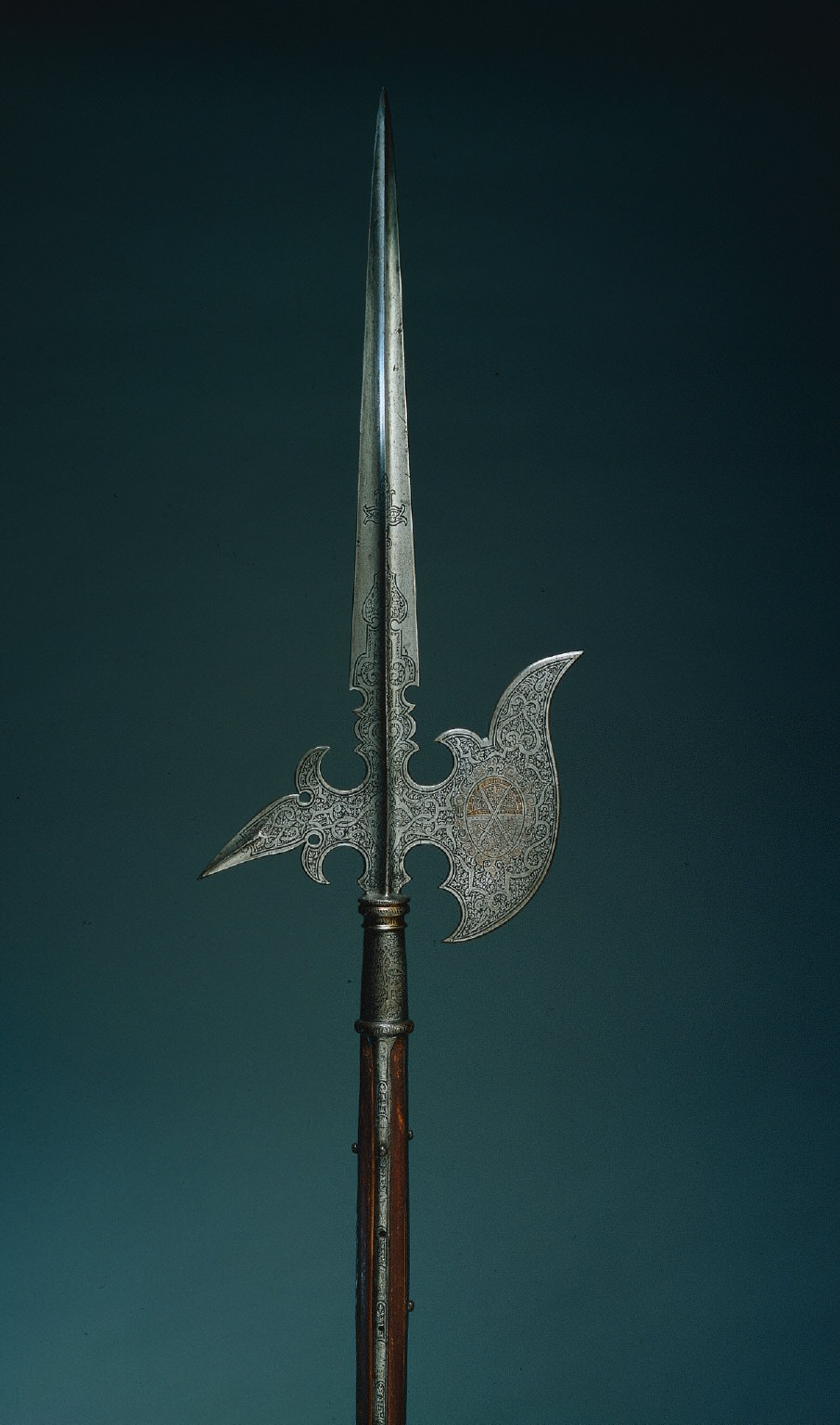 Parade Halberd with Arms of Elector Christian I of Saxony