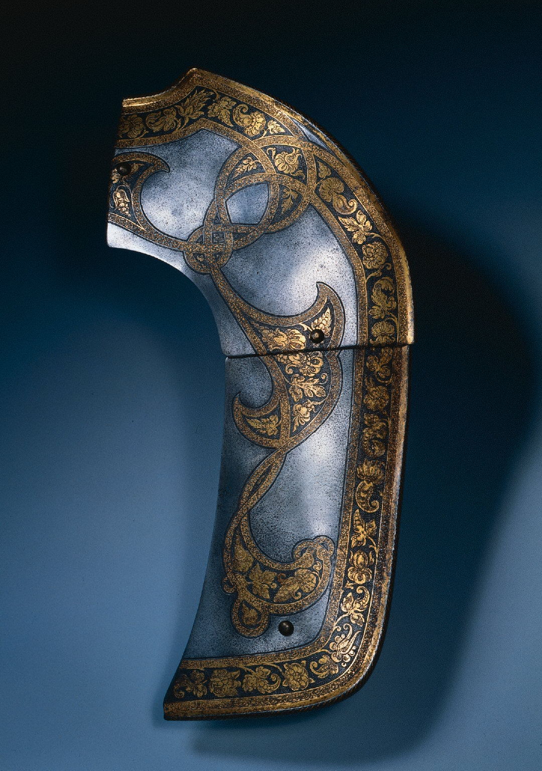 Pommel Plate of a Saddle (from the Garniture of Rudolf II)