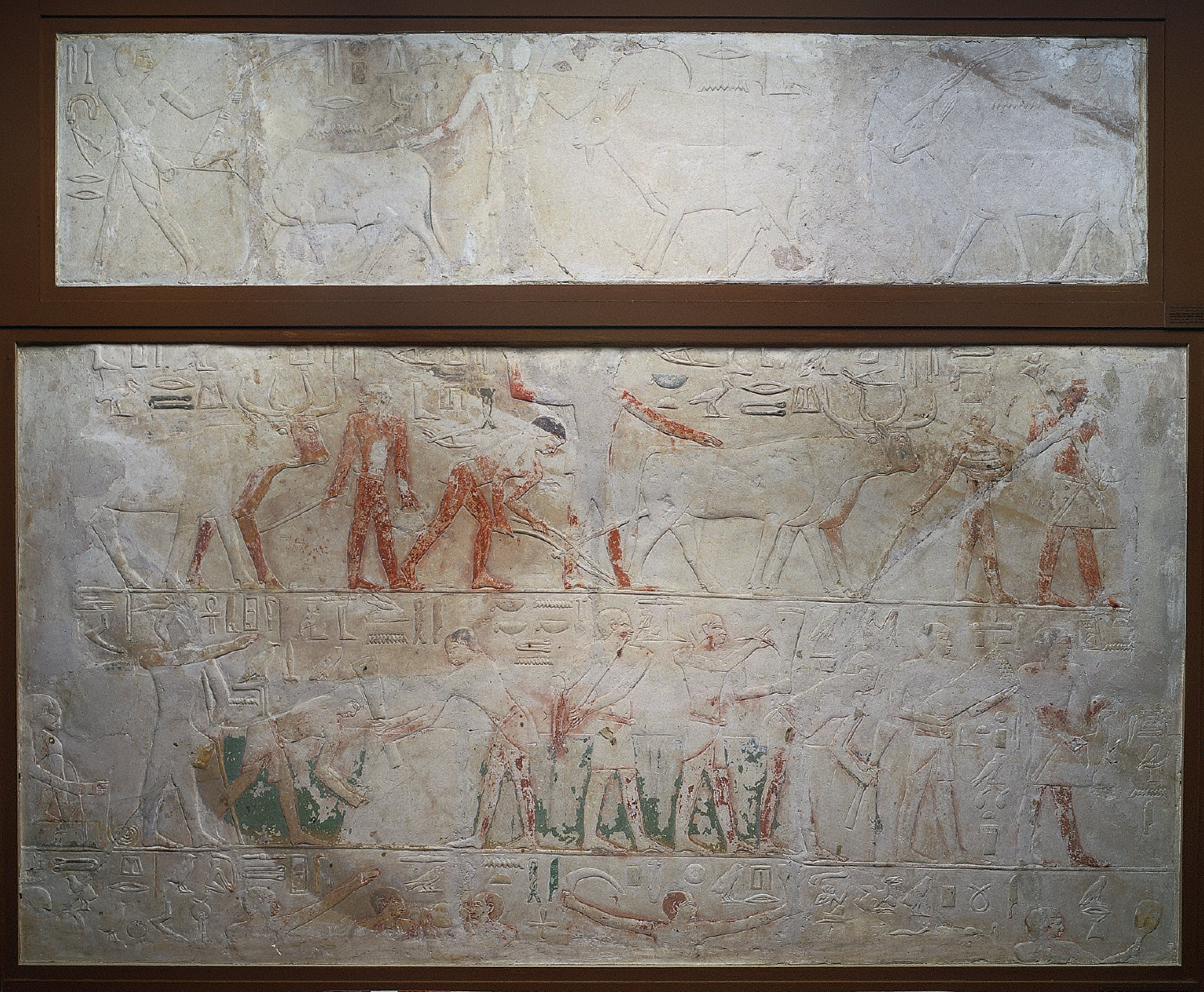 Relief of Agricultural Scenes
