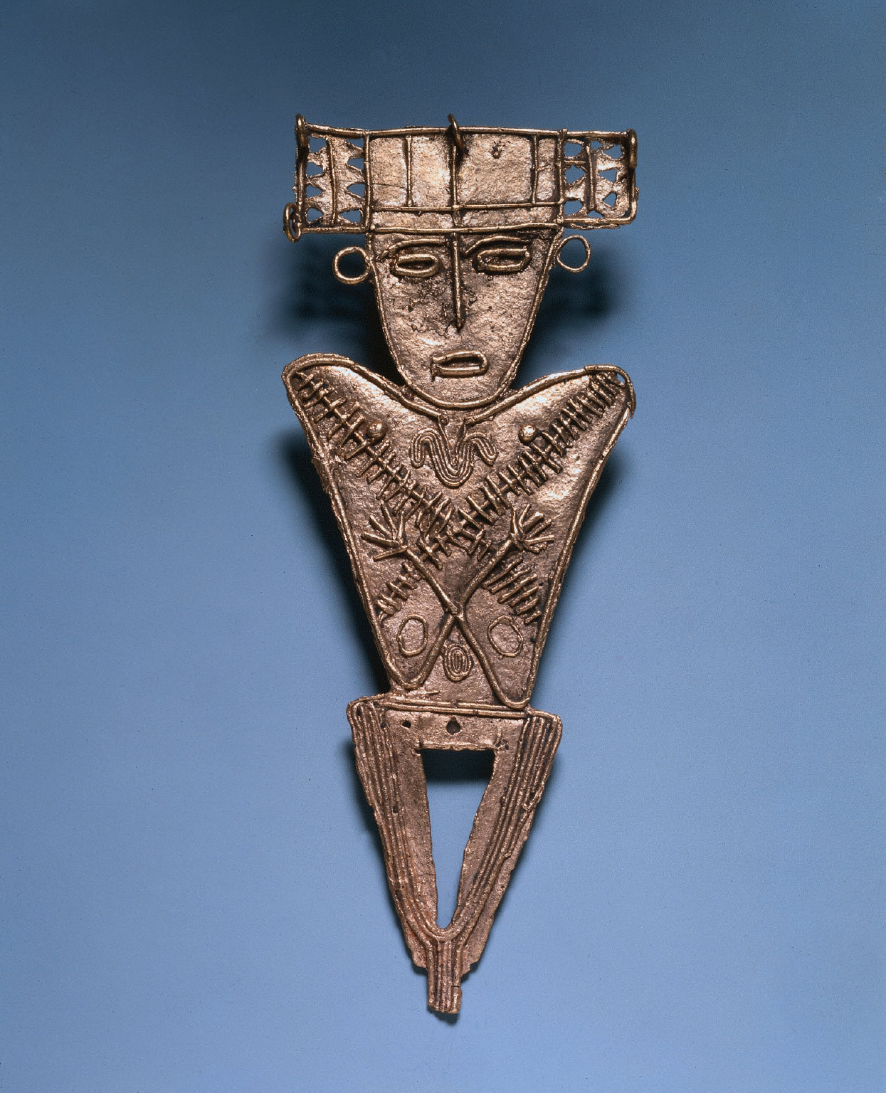 Votive Figurine with Crossed Arms