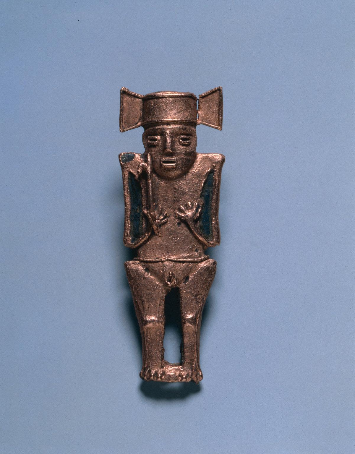 Votive Figurine with Spearthrower